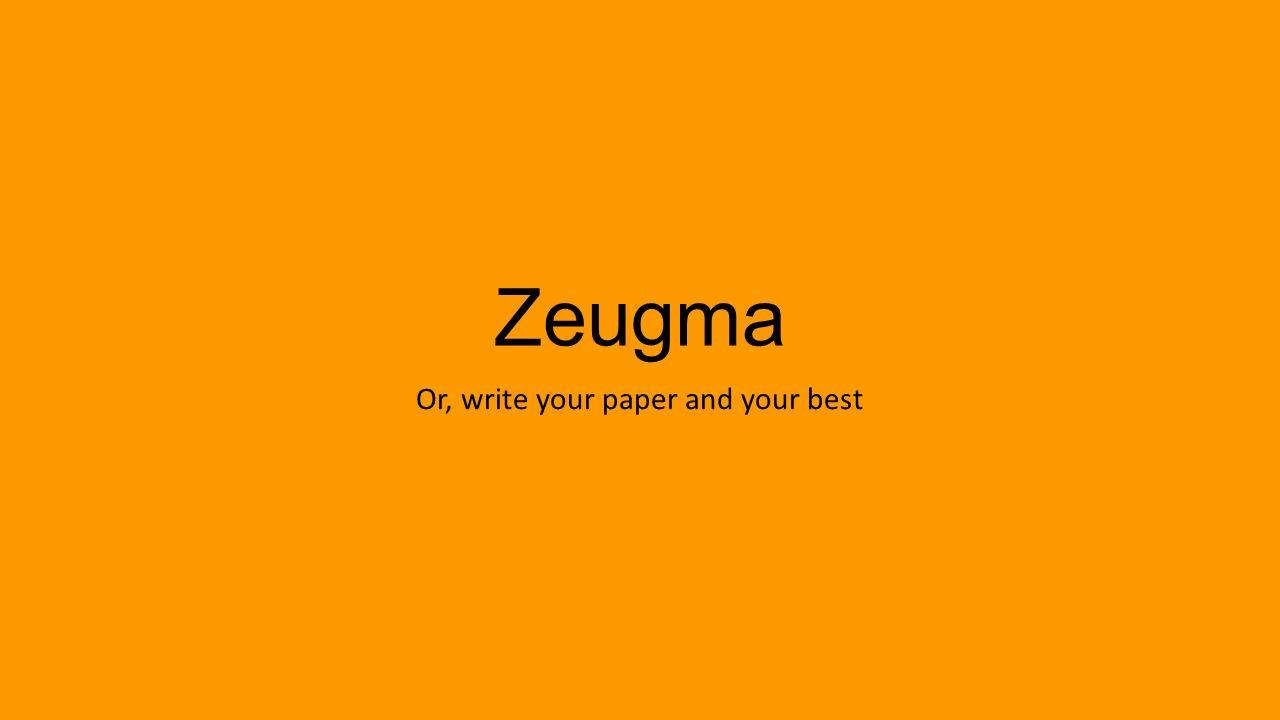Zeugma and syllepsis  Wikipedia