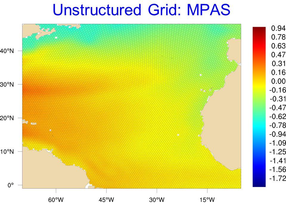 Unstructured Grid: MPAS