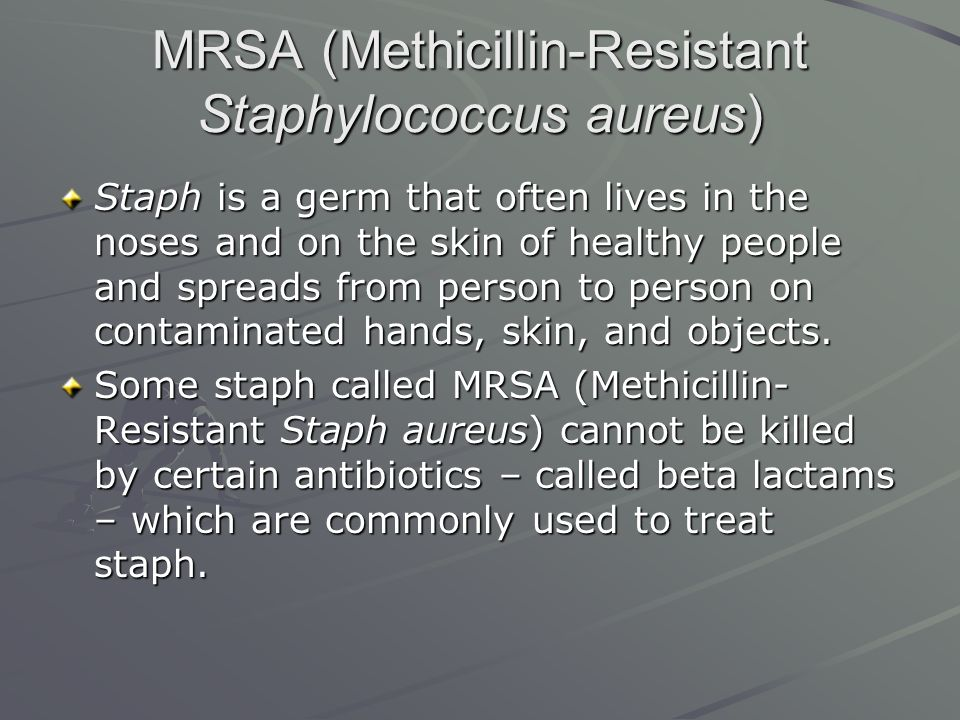 mrsa essay Sample of summary of respiratory mrsa essay (you can also order custom written summary of respiratory mrsa essay.