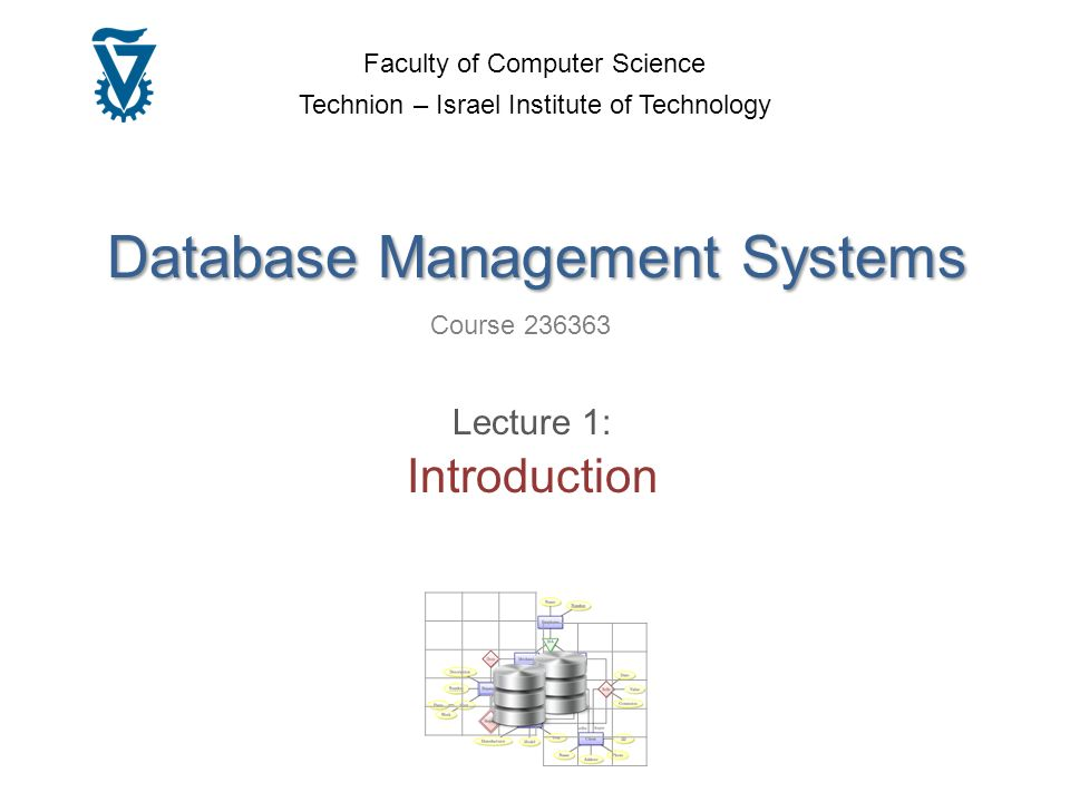 database systems coursework