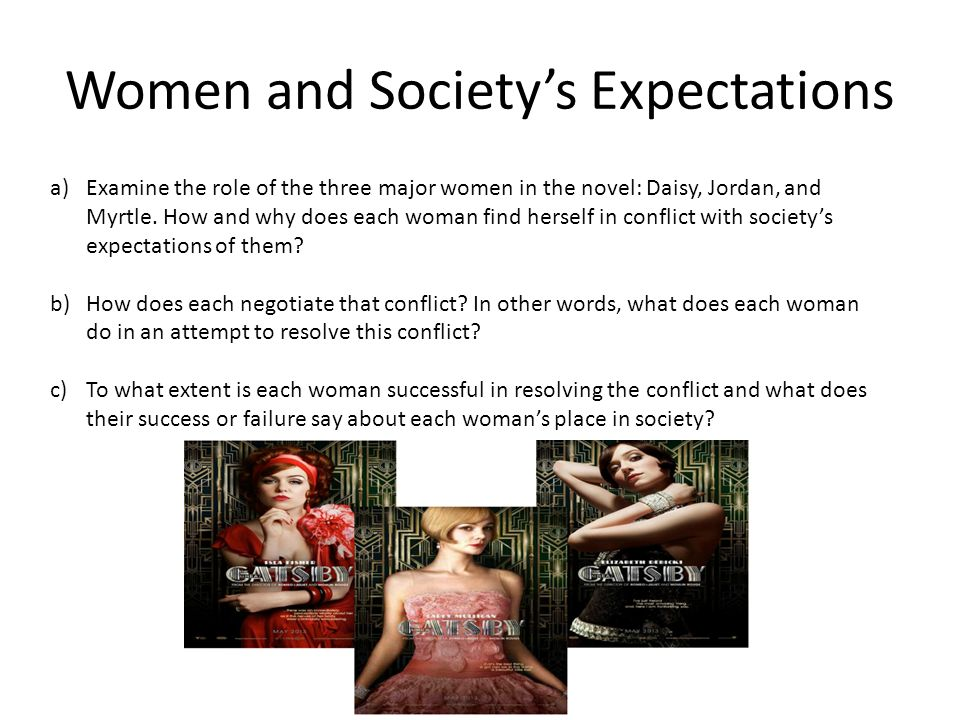 societal expectations of women essay The term social expectations refers to the general standards of behavior that individuals who live within a society are social expectations for women social.