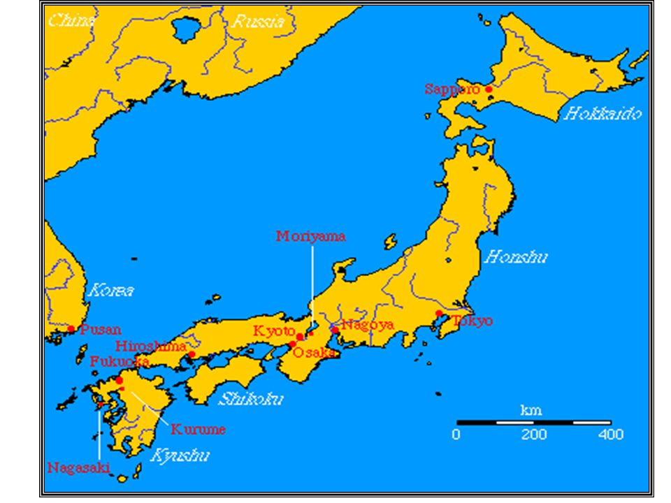 Japan Japans Location Japan Is Made Up Of Over Small - Japan map four main islands