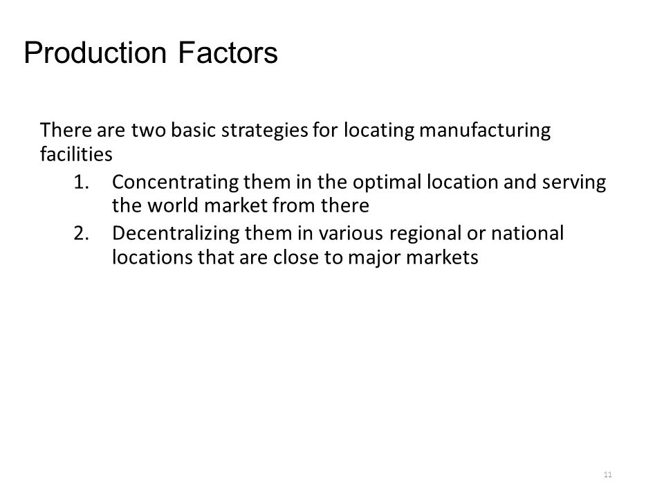 11 Production. Chapter 15 Global Production and Supply Chain Management ppt download