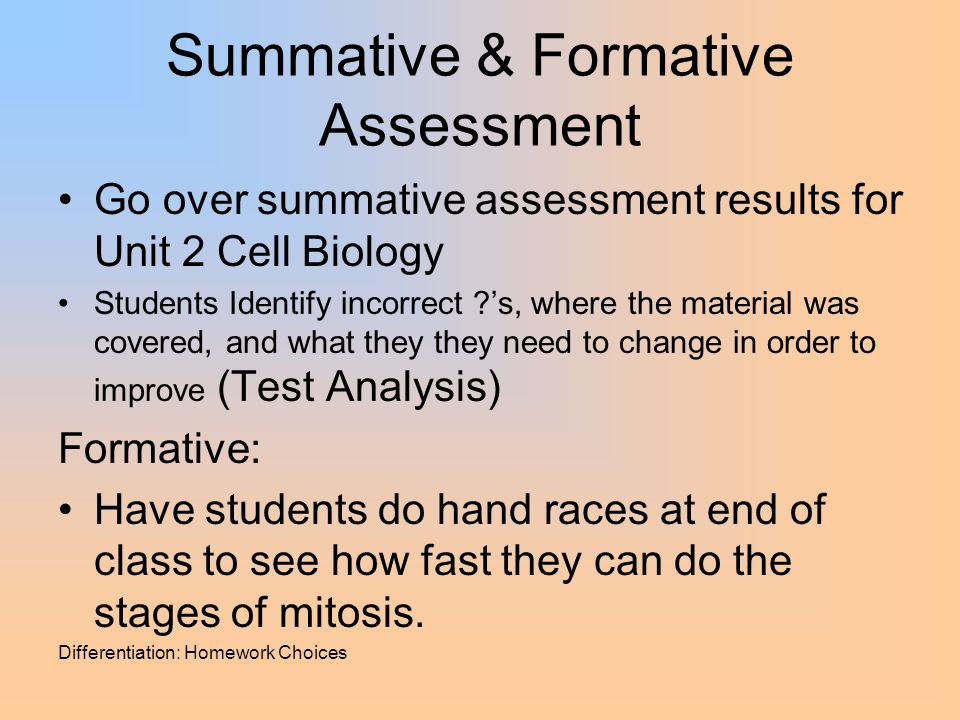 cellular biology lab homework Biology 102 pcc, cascade 11 lab 2: mitosis and the cell cycle goals: after successfully completing this lab, a student will be able to: • describe the major events of the cell cycle • illustrate the process of nuclear division with.