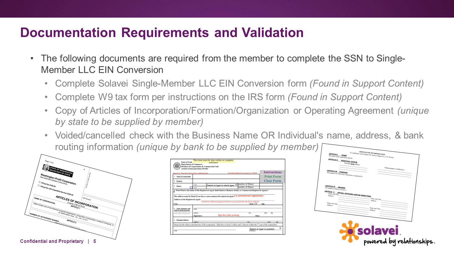 SSN to Single-Member LLC EIN Conversion Training Overview. - ppt ...