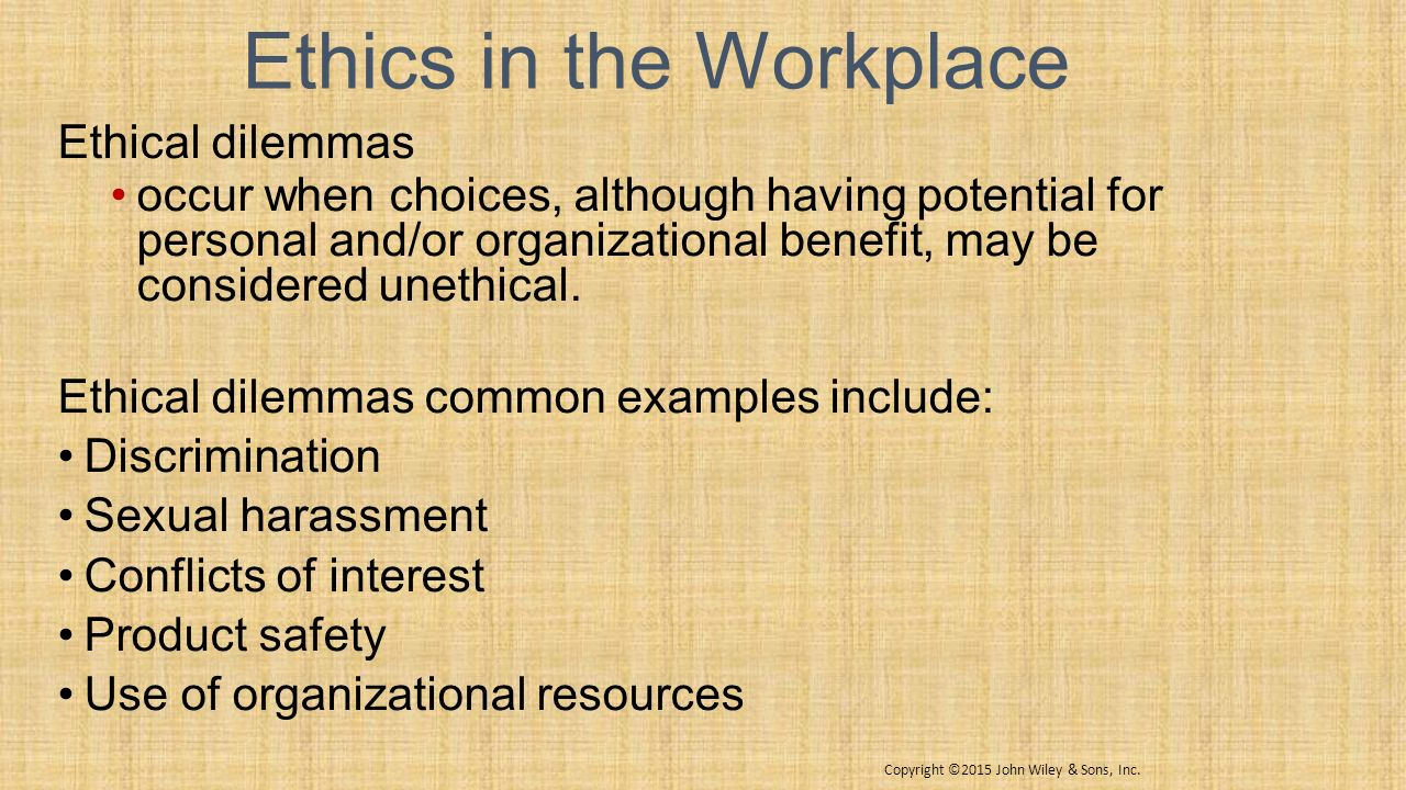 Managerial ethics organizational concepts prof karen hanen mgt 6 ethics in the workplace publicscrutiny Image collections