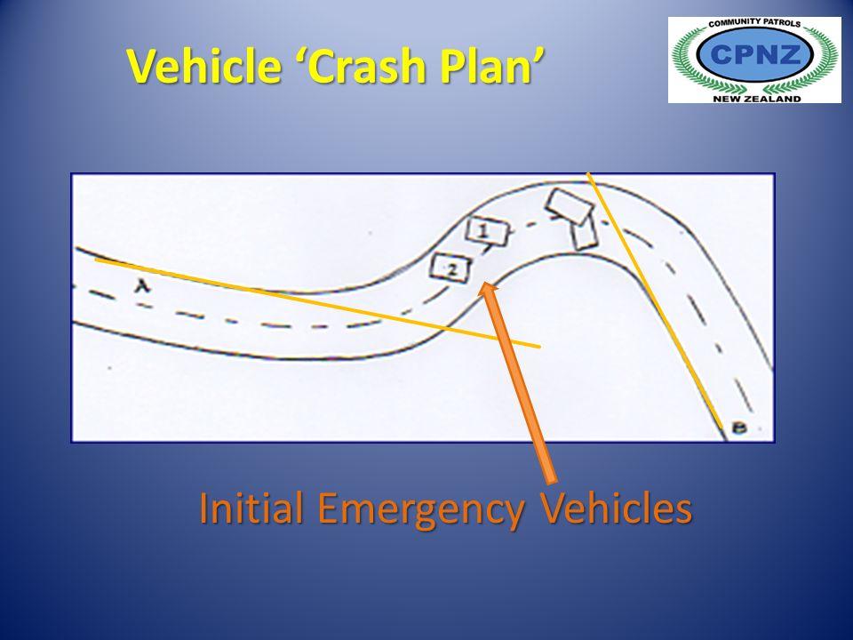 Initial Emergency Vehicles Vehicle 'Crash Plan'