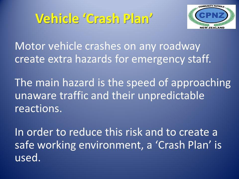 Motor vehicle crashes on any roadway create extra hazards for emergency staff.