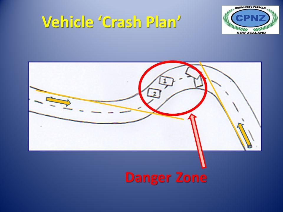 Danger Zone Vehicle 'Crash Plan'