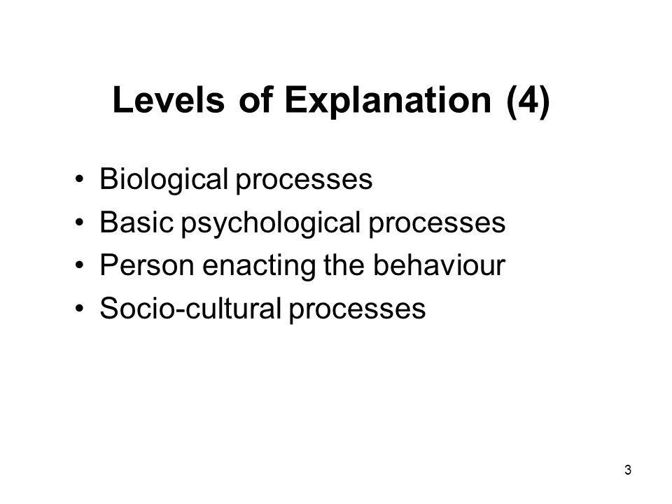 Aspects of Behaviour in Psychology?