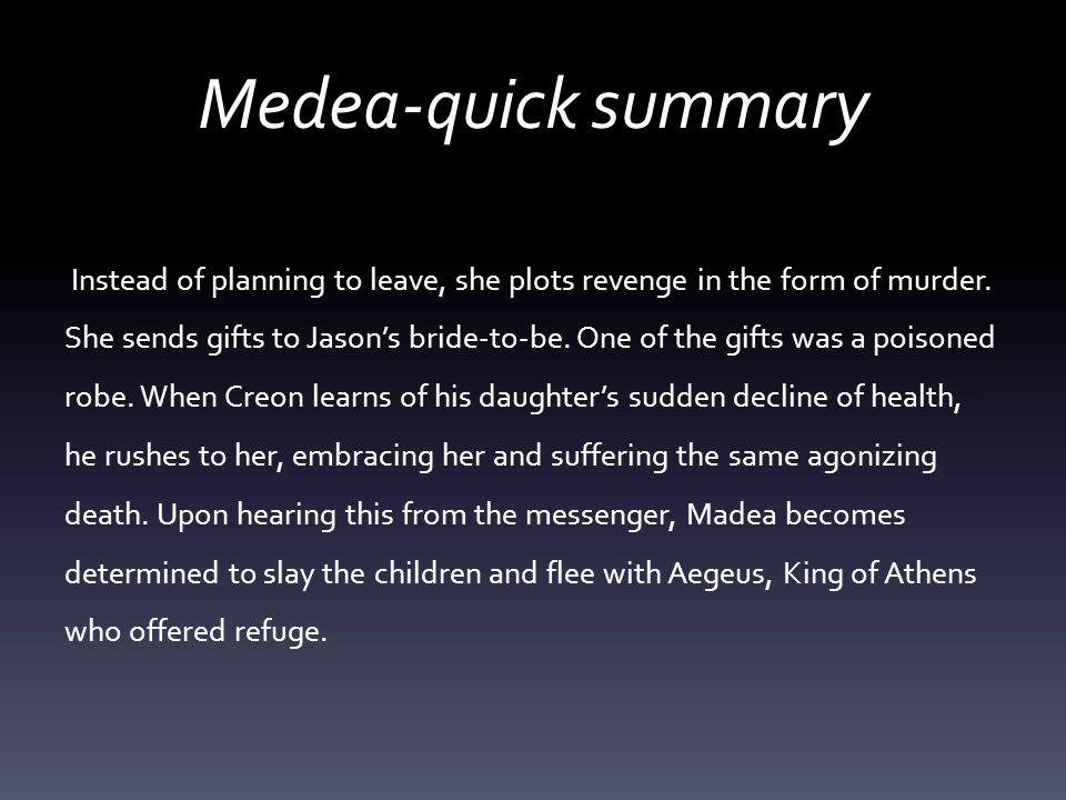 euripides medea summary essay Medea | essay topic breakdown lisa's study guides 2,546 views 7:41 euripides' medea - plot summary - duration: medea, the short version.