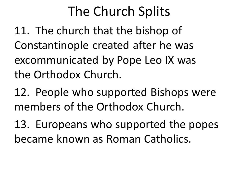 The Pope the Kings and the People