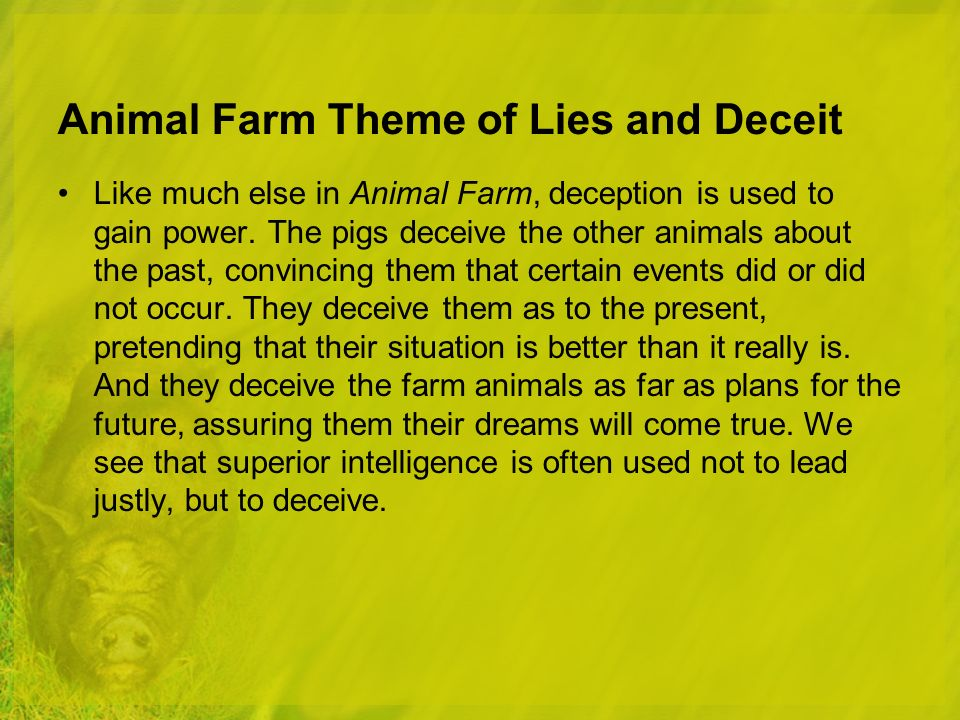animal farm by george orwell orwell george as a journalist  69 animal farm theme