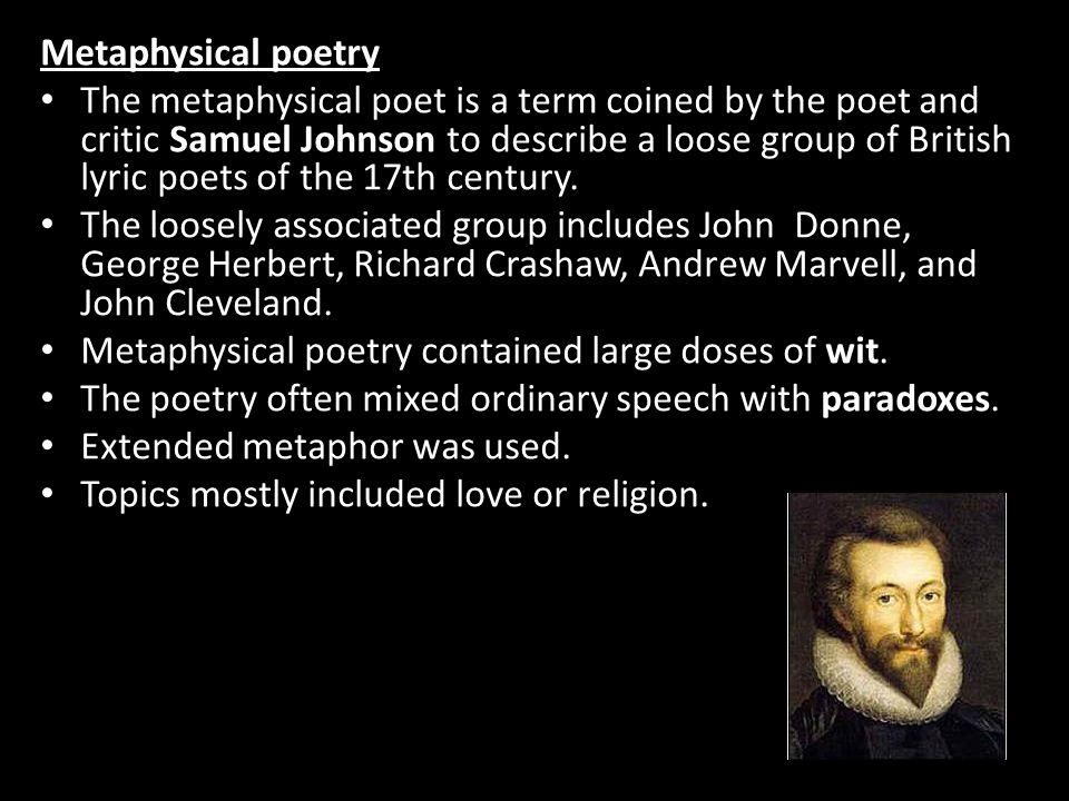 cavalier school of poetry