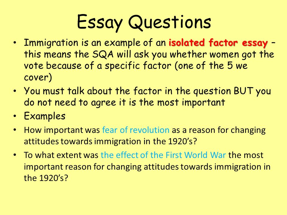 illega immigration essay