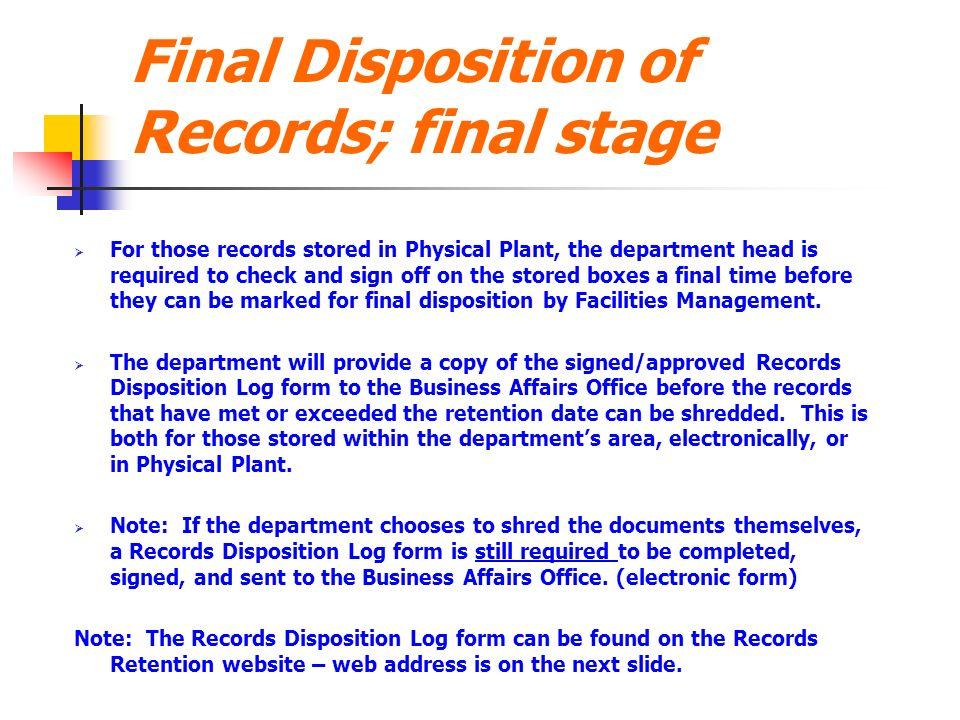 UT Tyler Records Management Training. Records Management Basic ...