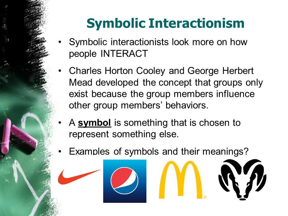 symbolic interactionism and drug abuse Please help answer the following questions (a) provide an example of a conflict theory perspective on crime (b) provide an example of symbolic interactionism as a theoretical perspective on.