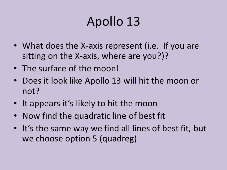 Warm Up Write down objective and homework Lay out homework Area – Apollo 13 Worksheet