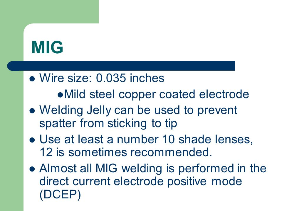 Great Welding Wire Sizes Photos - Electrical and Wiring Diagram ...
