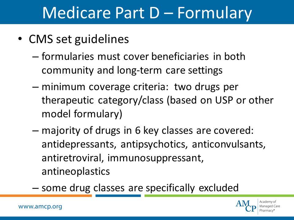 Medicare Part D Prescription Drug Benefit Highlights Presentation ...
