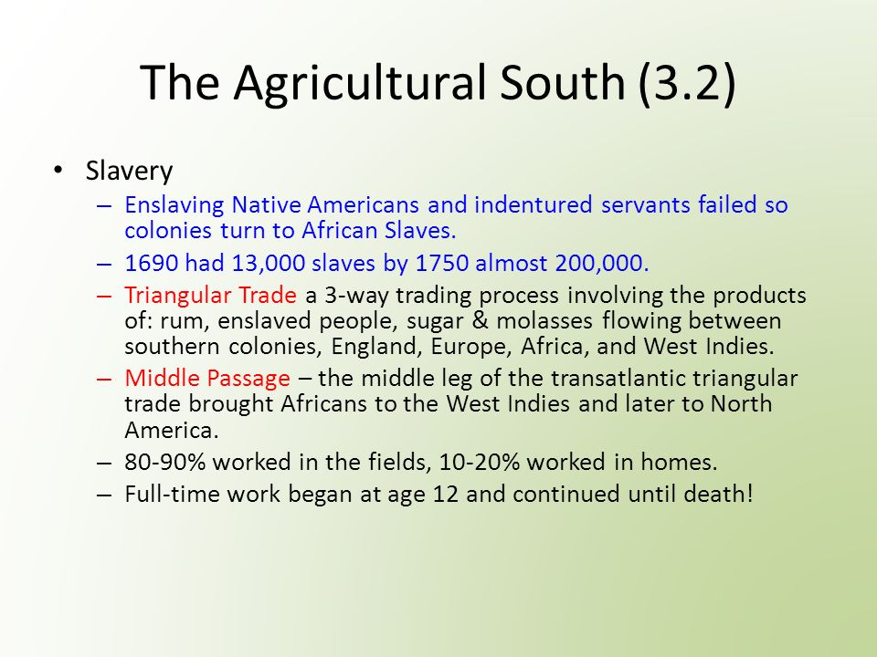 us history a the colonies come of age red are terms from  3 the agricultural