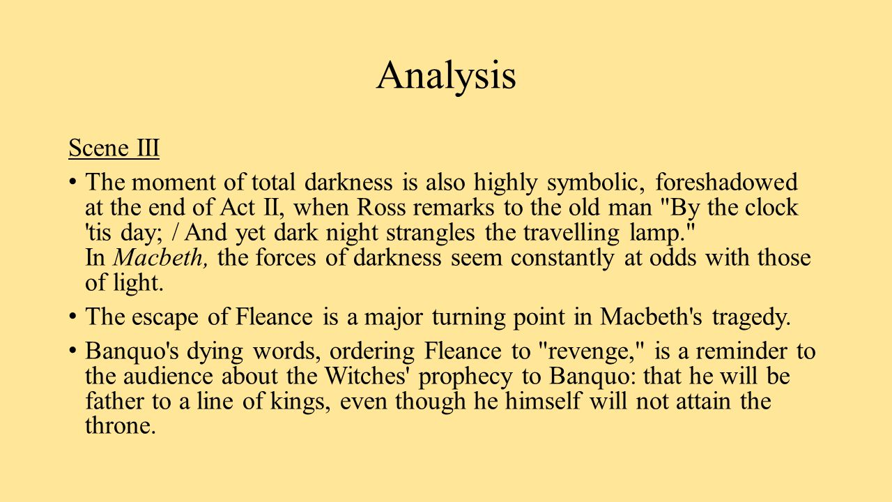 shakespeare s use weather symbolic event macbeth
