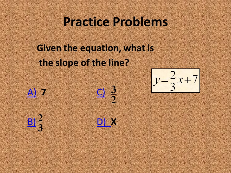 When You Hear The Word Slope What Comes To Mind Slope Of A Line