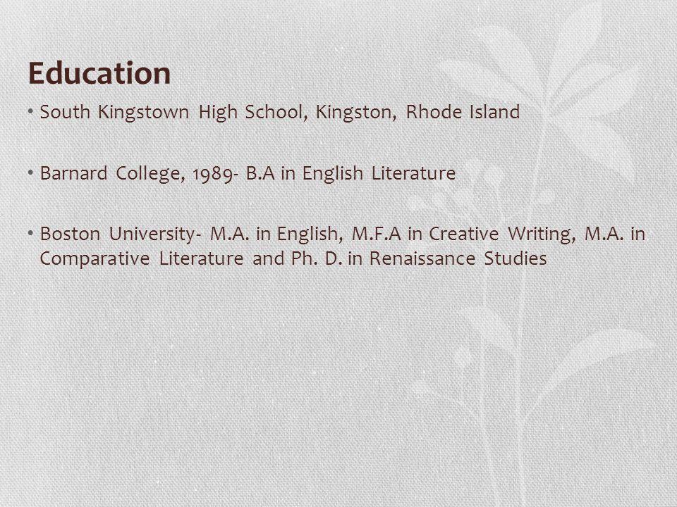 Boston Mfa Creative Writing