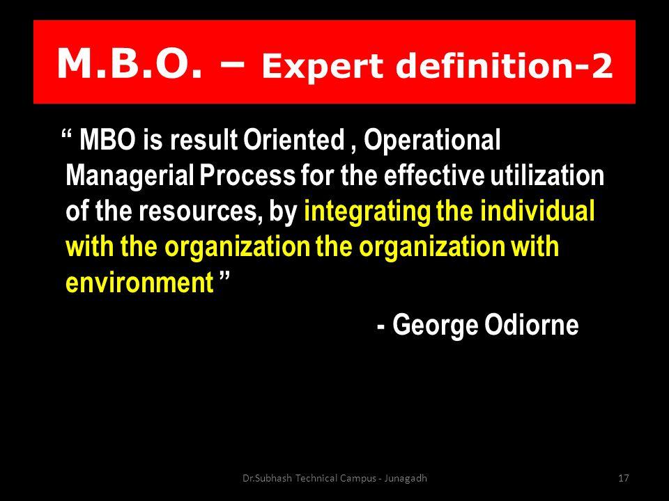 M.B.O.