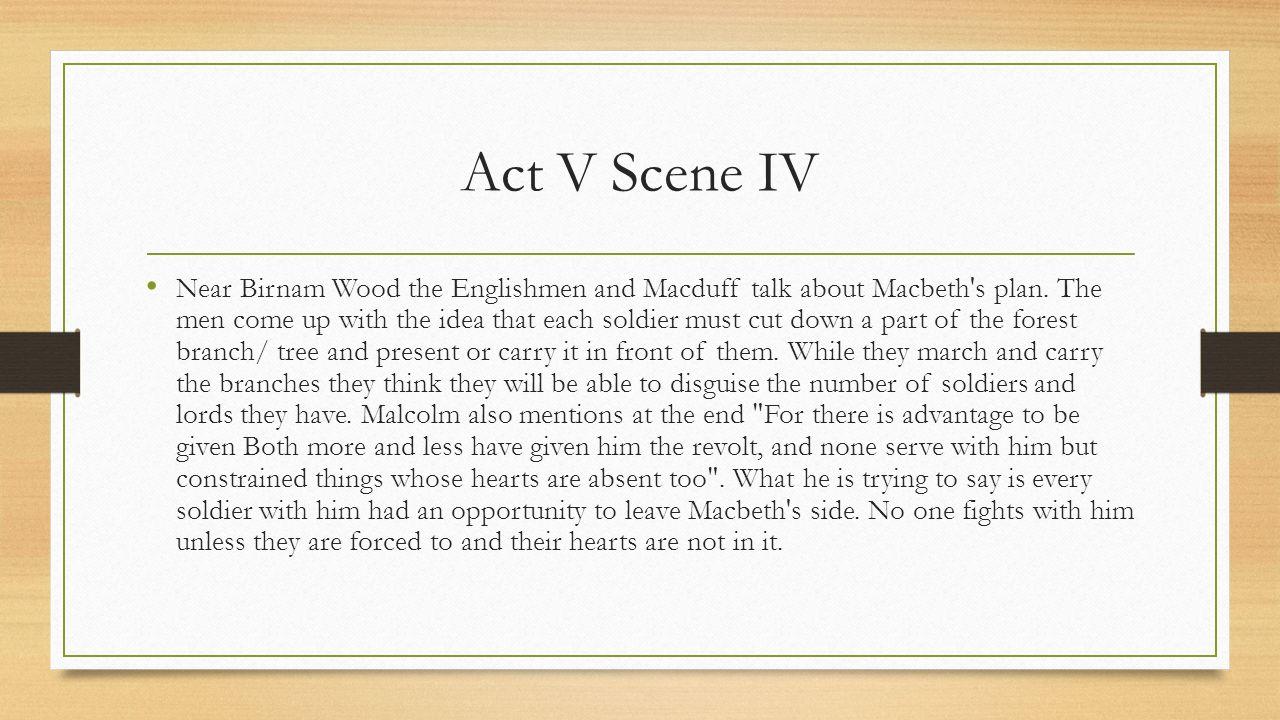 macbeth act 4 revision