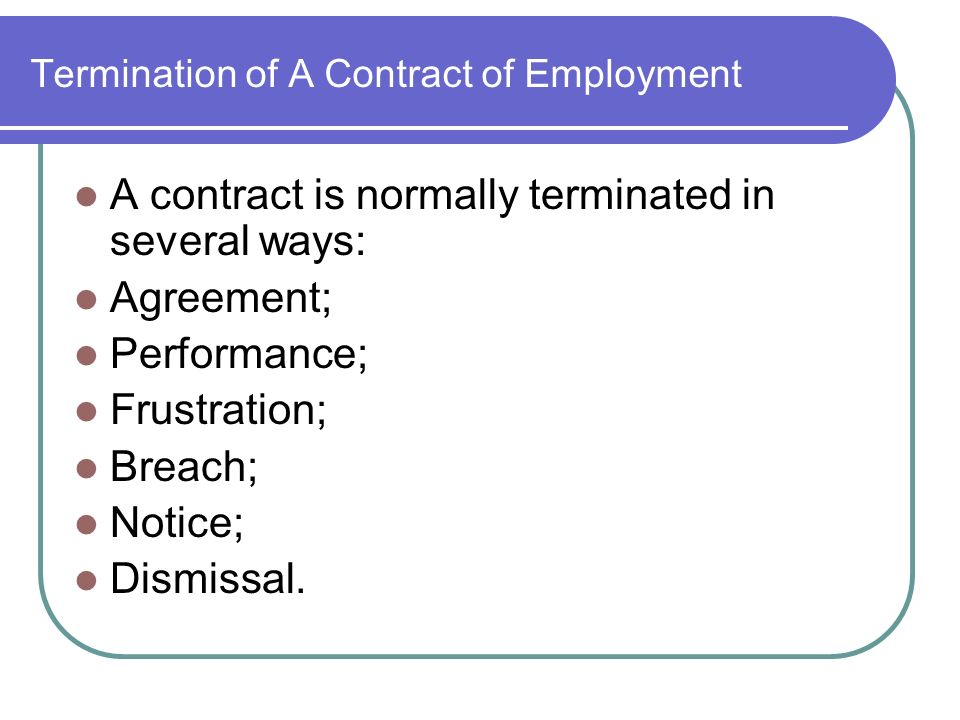 Lecture  Employment Law Employment Law  Labour Law