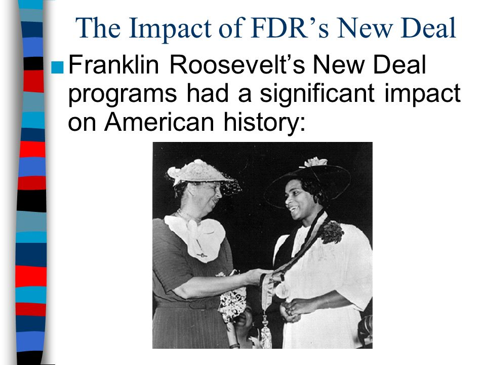 a study of the new deal by franklin d roosevelt