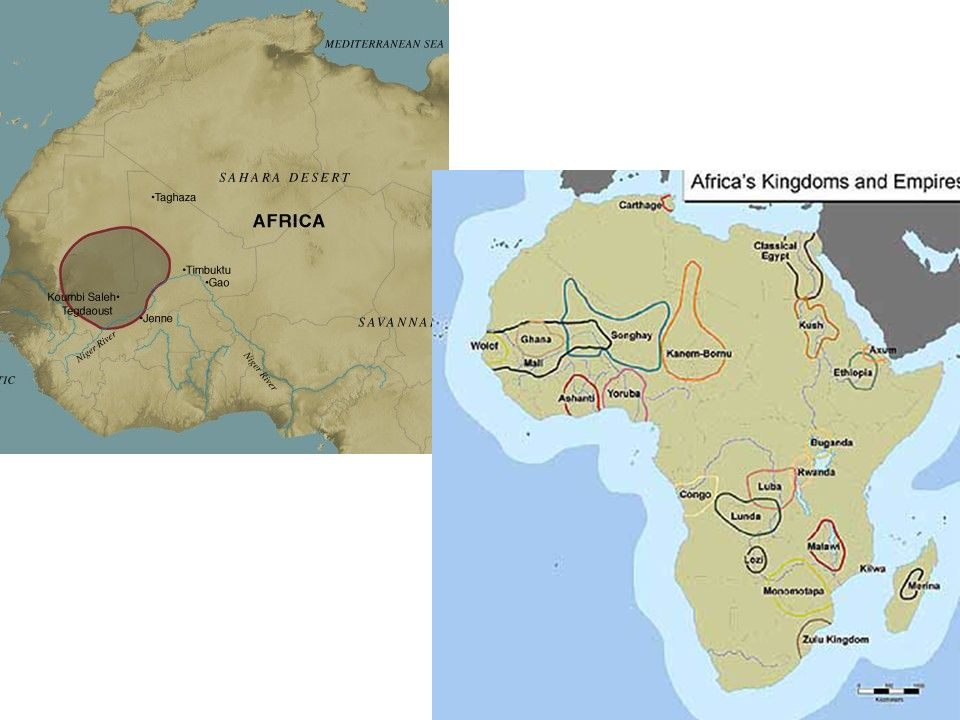 Kingdoms of Africa Ghana Mali and Songhai Kingdom of Ghana