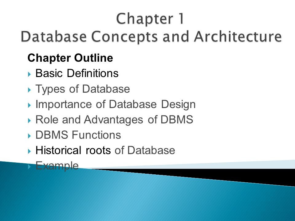 2 chapter outline basic definitions types of database importance of database design role and advantages of dbms dbms functions historical - Role Of Database Designer
