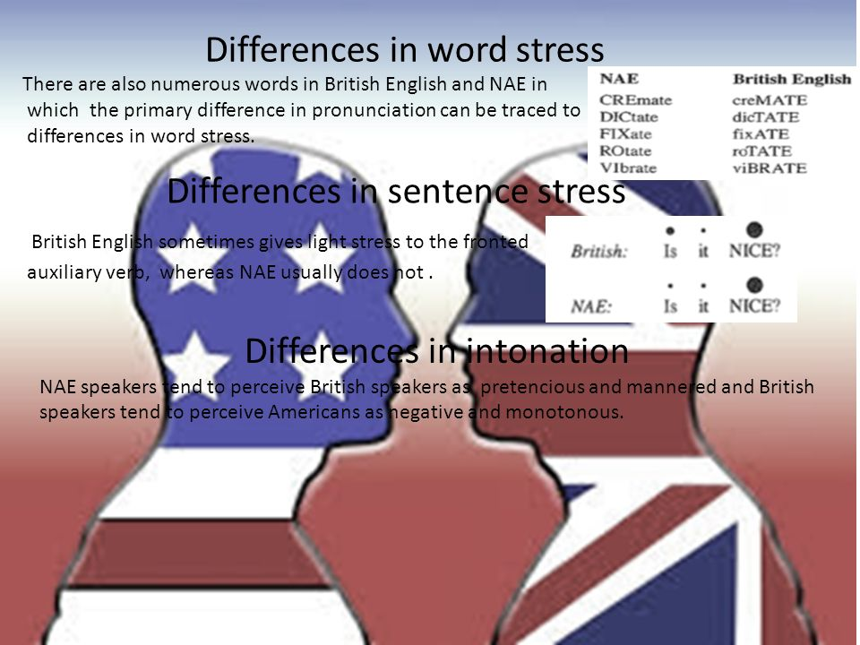 British or American? Why? There are so many countries in the world ...