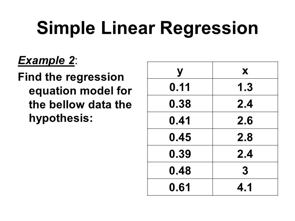 regression paper Linear regression is a basic and commonly used type of predictive analysis the overall idea of regression is to examine two things: (1) does a set of predictor variables do a good job in predicting an outcome (dependent) variable (2) which variables in particular are significant predictors of.