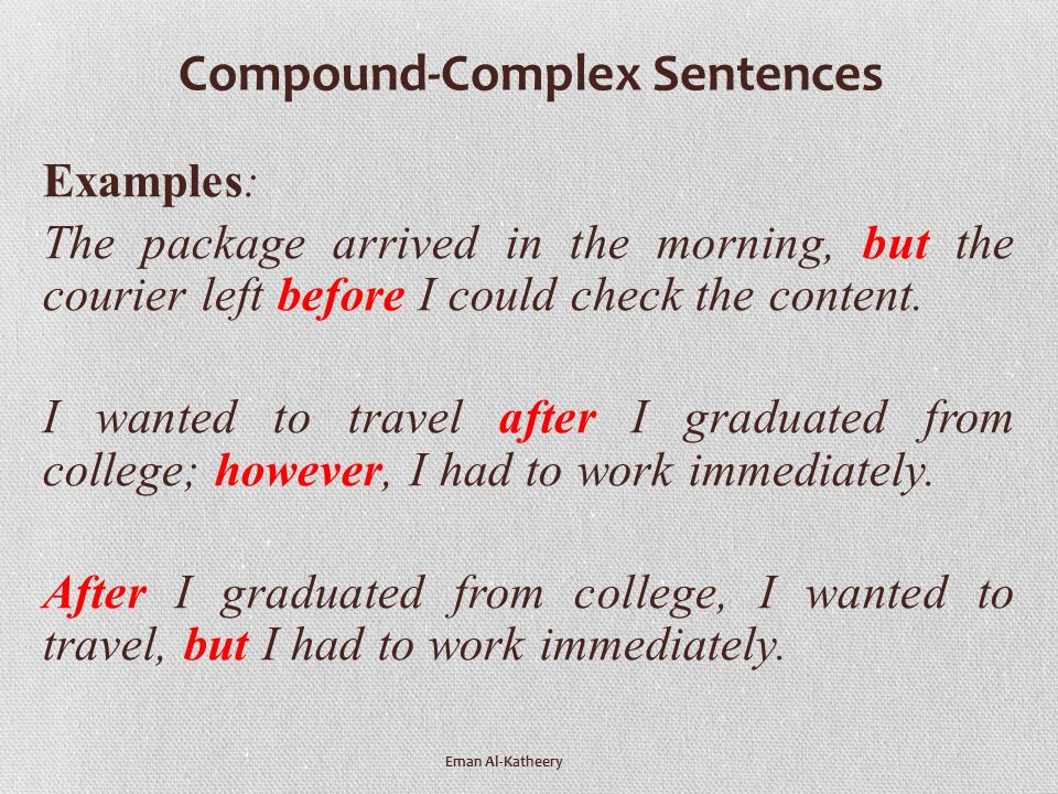 CLAUSES, TYPES OF SENTENCES & BASIC SENTENCE PATTERNS Prepared by ...