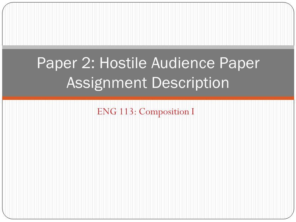 research paper description