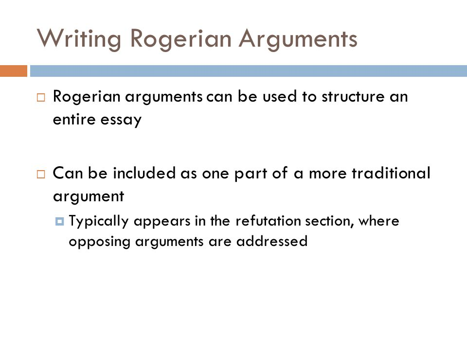 Argumentative Essay Layout