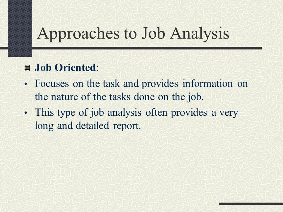 Job Analysis Report. Client/Job Budget Analysis Clients & Profits