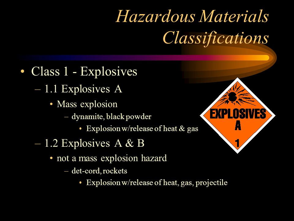 Haz-Mat Response Guidelines Look for signs that haz-mat may be present.
