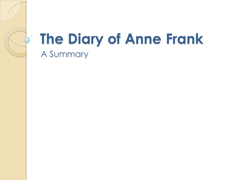 an analysis of the diary of anne frank a world war two book