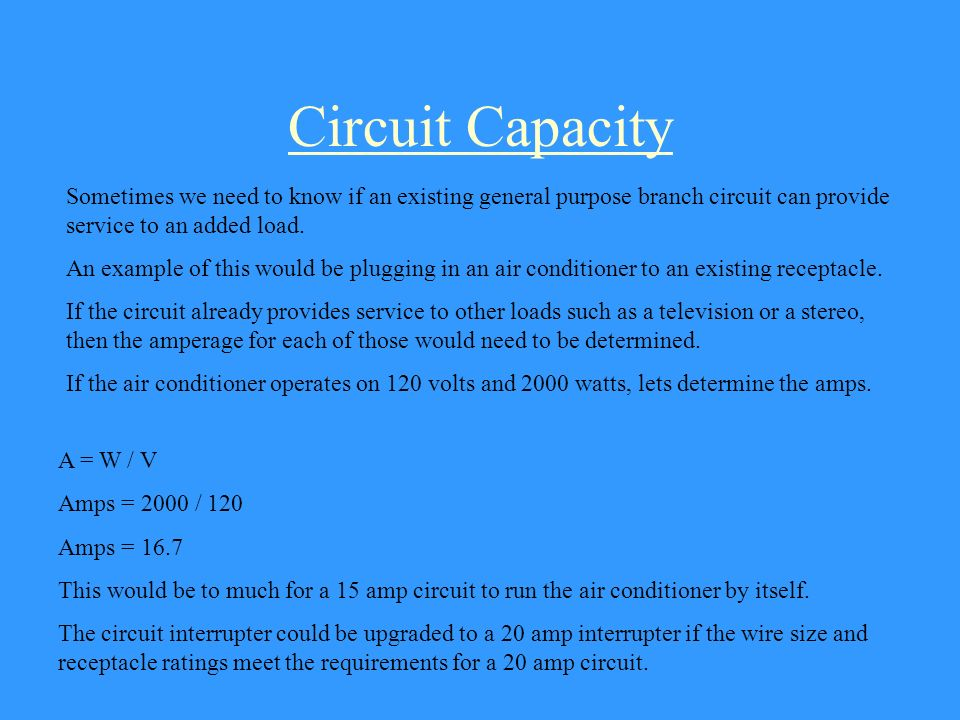 Electricity calculating electric power this lesson is from virginia voltage drop when we plan for a circuit we must take into consideration the distance greentooth Choice Image