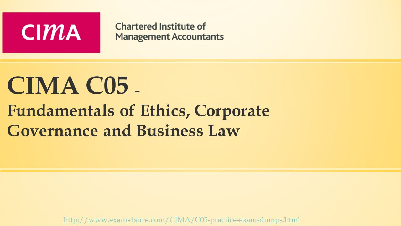 cima code of ethics The purpose of the cima code of professional ethics is to set forth the minimum standards of individual conduct expected of cima employees it is also hoped that this code will facilitate and inspire voluntary compliance with standards considerably higher than the required minimums.