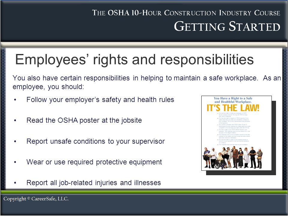 responsibilities and rights of employees and