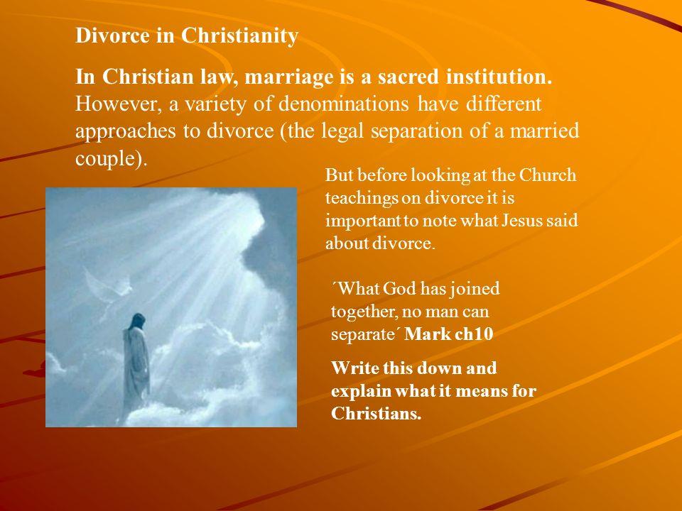 Christian Views On Hookup After Divorce