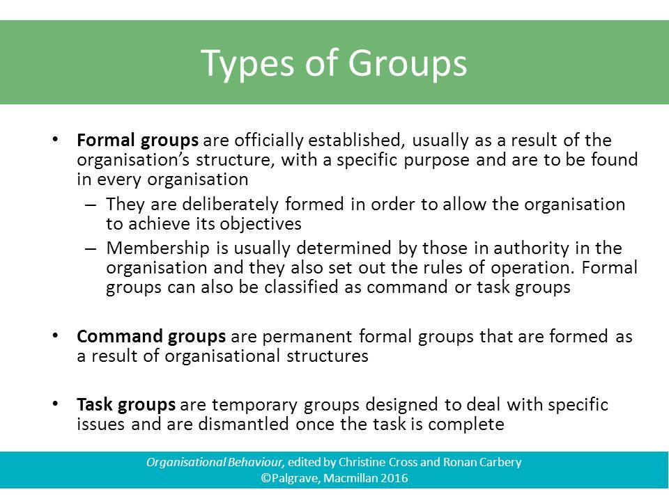 organisational behaviour organisational structure and