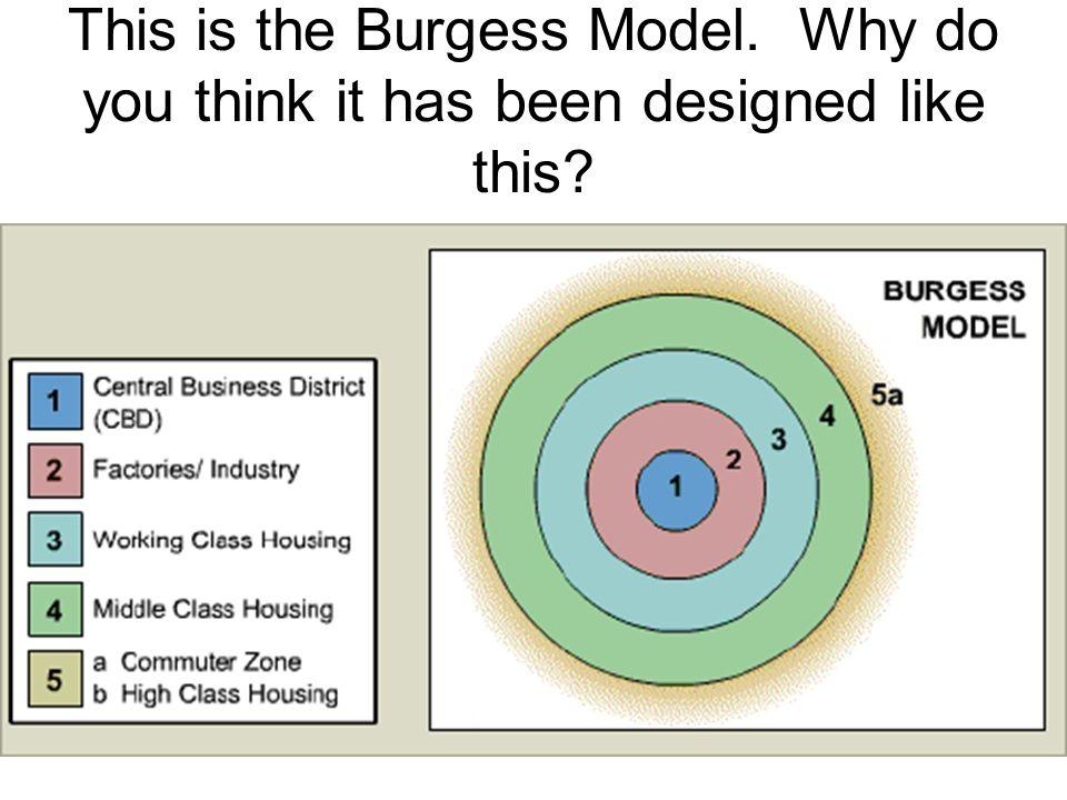 Burgess model houses