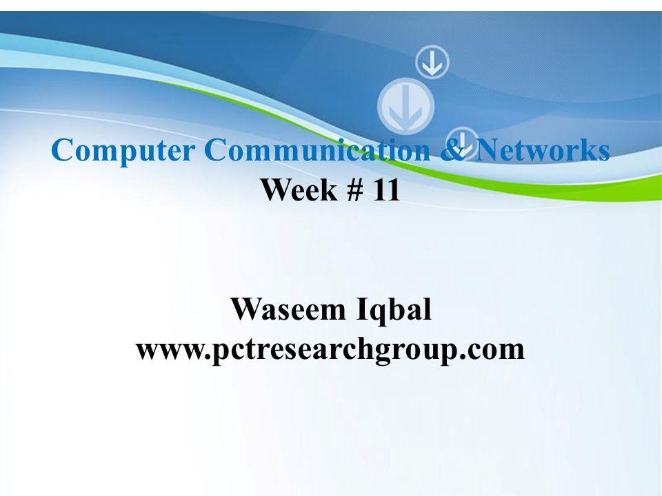 powerpoint templates computer communication & networks week # 11, Modern powerpoint