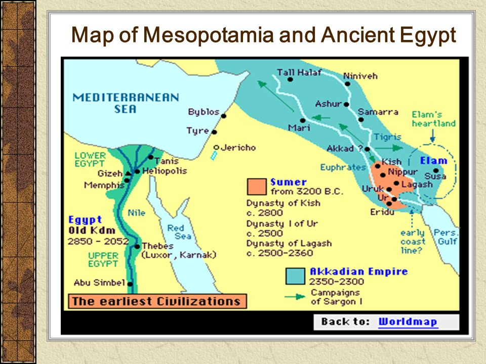 world view of mesopotamia and egypt essay Mesopotamia and egypt were both in flood basins of major rivers mesopotamia was characterized by turmoil and tension and in contrast egypt was characterized by stability and serenity the mesopotamian climate was harsh and since the tigris and the euphrates flooded irregularly, nature was not viewed as life enhancing but rather.